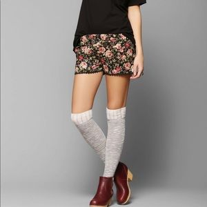 Urban Outfitters RAGA brand floral pattern shorts